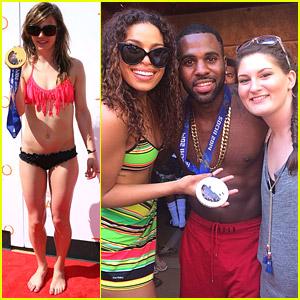 Olympians Kaitlyn Farrington & Devin Logan: TAO Beach Opening with Jason Derulo!