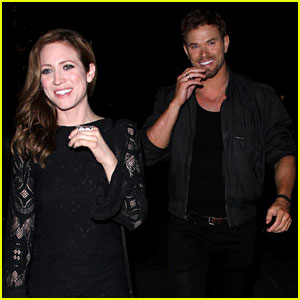 Kellan Lutz Grabs Dinner with Pal Brittany Snow!