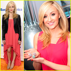 Nastia Liukin & Faberge Offer Up Egg Pendents for the Big Egg Hunt 2014