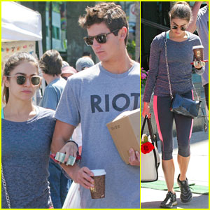 Nikki Reed Hits Farmers Market with Brother Nathan