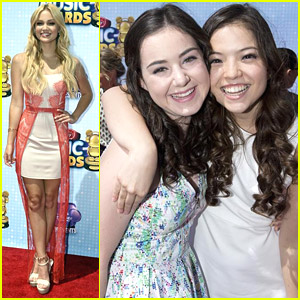 Olivia Holt & Piper Curda Reunite With 'I Didn't Do It' Cast at RDMAs 2014