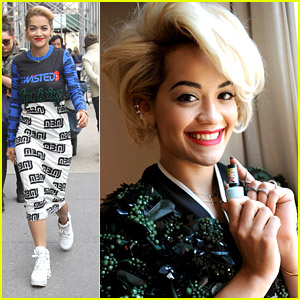 Rita Ora: Fan Friendly After Rimmel London Press Preview