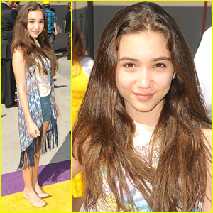 Rowan Blanchard: Ready To Ride Despicable Me's Minion Mayhem!