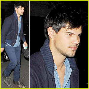 Taylor Lautner Might Hit the Road for 'Run the Tide'!