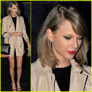Taylor Swift Shows Off Some Leg for a Night Out