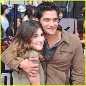 Tyler Posey & Seana Gorlick - MTV Movie Awards 2014