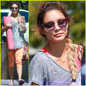 Vanessa Hudgens is a Braided Goddess for Weekend Yoga!