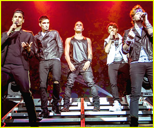 The Wanted Light Up Detroit Rock City