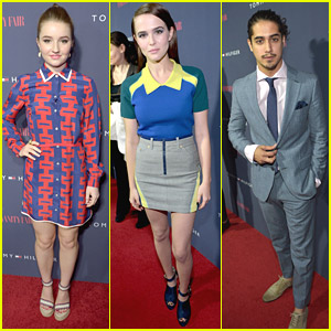 Avan Jogia & Zoey Deutch: Tommy Hilfiger Capsule Launch with Kaitlyn Dever