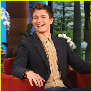 Ansel Elgort Reveals His Hidden Talent on 'Ellen'