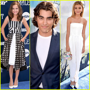 Bailee Madison & G Hannelius Are 'Maleficent' Premiere Beauties!