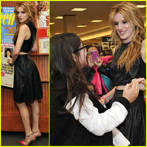 Bella Thorne Meets a Big Fan at Her Meet & Greet!