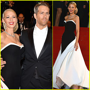 Blake Lively & Ryan Reynolds Dress Up for 'Captives' Cannes Premiere