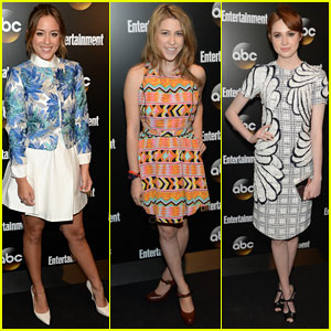 Chloe Bennet & Eden Sher Celebrate ABC Shows at EW's Upfronts Party!