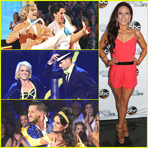 Charlie White Loses Umbrella Prop Again During 'DWTS' Finale - Watch Now!