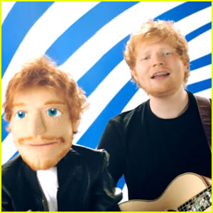 Ed Sheeran Rocks Out with Lookalike Muppet & Pharrell Wiliams in New 'Sing' Music Video - Watch Now!