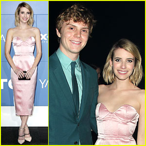 Emma Roberts & Evan Peters Couple Up at 'X-Men: Days of Future Past' Premiere!