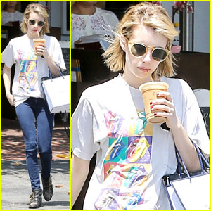 Emma Roberts Reveals Some Summer Reading