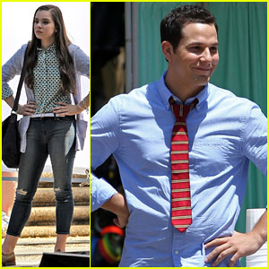 Hailee Steinfeld & Skylar Astin: First Pics on 'Pitch Perfect 2' Set!