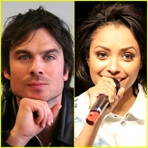 Ian Somerhalder & Kat Graham Vamp Up for 'Bloody Con' Event!