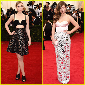 Imogen Poots & Adele Exarchopoulos Shine at MET Gala 2014