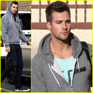 James Maslow Remembers to Have Fun Leading Up to 'DWTS' Semifinals