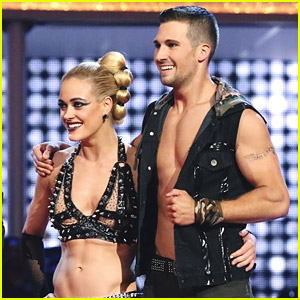 James Maslow Wears Team Jeta Tattoo During 'DWTS' Finals!