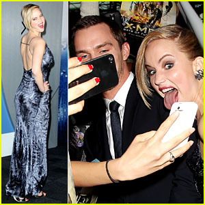 Jennifer Lawrence Made Some Crazy Faces at the 'X-Men' Premiere!