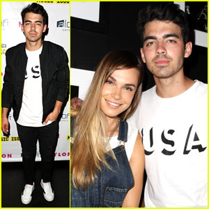 Joe Jonas & Blanda Eggenschwiler are a 'Nylon' Party Pair for Memorial Day!