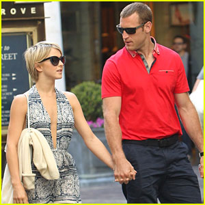 Brooks Laich: Julianne Hough Is 'Such A Dancer'
