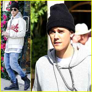 Justin Bieber Was 'Caught Lookin Fly' While Shopping