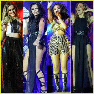 Little Mix Spreads Their 'Wings' for the First Show of Their UK Tour!