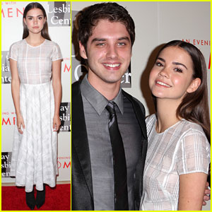 Maia Mitchell & David Lambert Spend an Evening with Women!