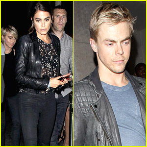 Nikki Reed & Derek Hough: Double Date with Julianne & Brooks!