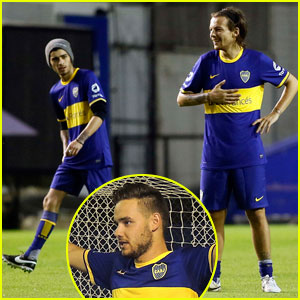 One Direction Make Soccer Uniforms Look Good!
