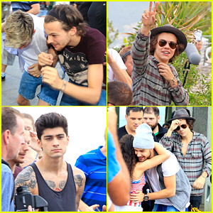 One Direction Cause Havoc While Visiting Christ The Redeemer Statue in Rio