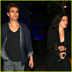 Paul Wesley Has Date Night with Phoebe Tonkin!