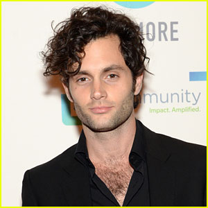 Penn Badgley Has Heart at the Joyful Revolution Gala!