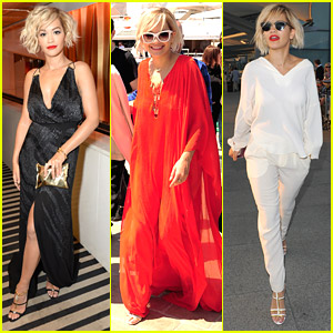Rita Ora's Legs Take Center Stage During Cannes Film Festival Party