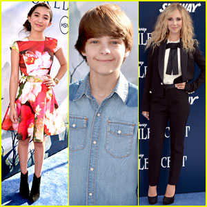 Rowan Blanchard & Juno Temple Make Their 'Maleficent' Premiere Entrances!