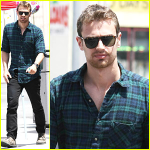 Theo James: Richard Gere 'Upped My Game'