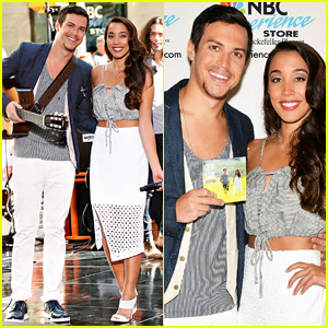 Alex & Sierra Serenade the 'Today Show' Crowd with First Single 'Scarecrow' - Watch Now!