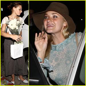 Aly & AJ Michalka Enjoy Hollywood Night Out Together!