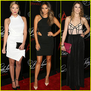 Ashley Benson & Shay Mitchell Wow on the Red Carpet at the 'Pretty Little Liars' 100th Episode Celebration!
