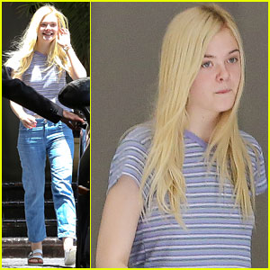 Elle Fanning Indulges in Froyo at Pinkberry!