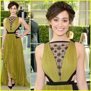 Emmy Rossum Knows How to Pull Off Color at CFDA Fashion Awards 2014!