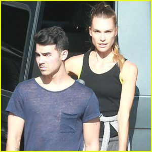 Joe Jonas Leaves Paris Fashion Week Behind; Arrives Home To Blanda Eggenschwiler