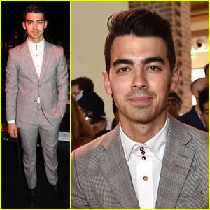 Joe Jonas Meets an Iconic Fashion Designer During Milan Fashion Week!