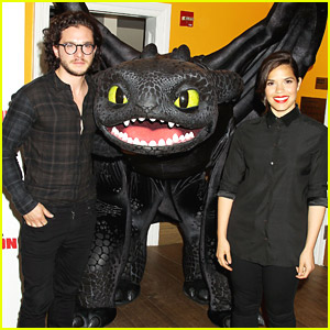 How to train your dragon 3 will give fans an answer on how why toothless joins america ferrera kit harrington for new york how to train your dragon 2 screening ccuart Image collections