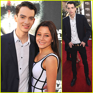 Kodi Smit-McPhee Brings Girlfriend Rebecca Phillipou To 'Dawn of The Planet of the Apes' Premiere